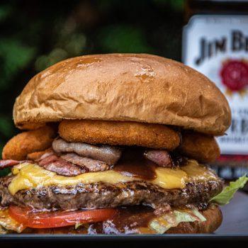 Jim Beam Bekon Burger